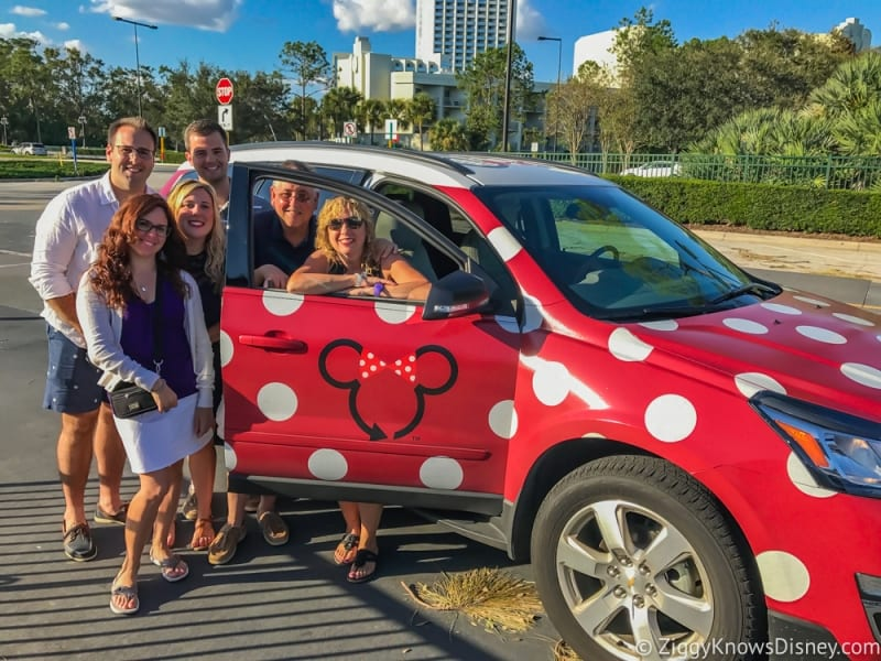 Disney's Minnie Van Review Walt Disney World after