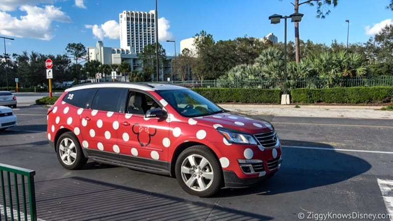 Minnie Van Service Available All Walt Disney World Resort Hotels