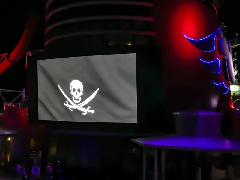 Pirate Night Dinner Review Disney Cruise