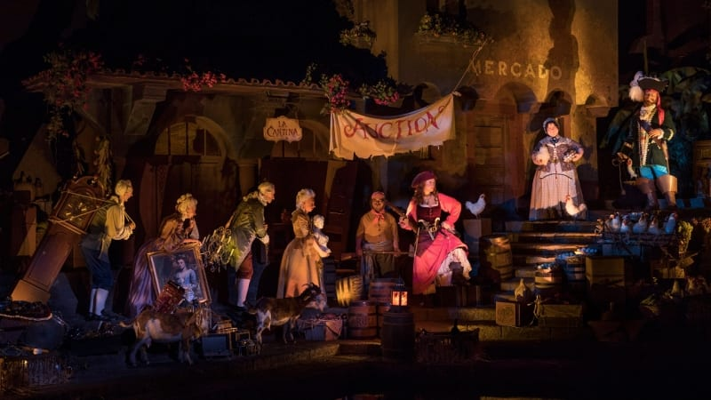 Pirates of the Caribbean new auction scene