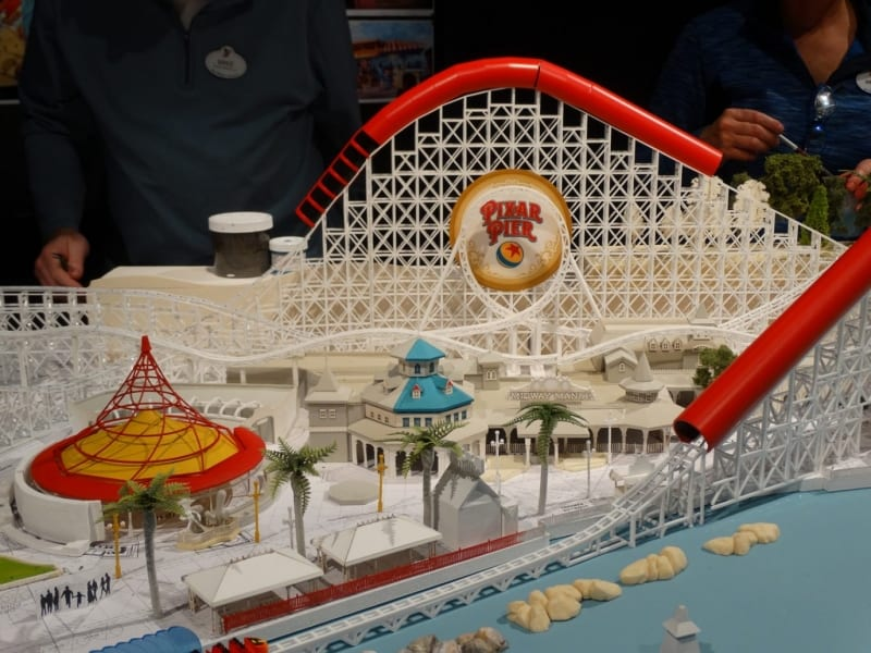 New Details Pixar Pier