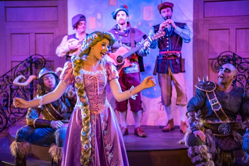 PHOTOS: Inside Rapunzel's Royal Table on the Disney Magic Cruise Ship
