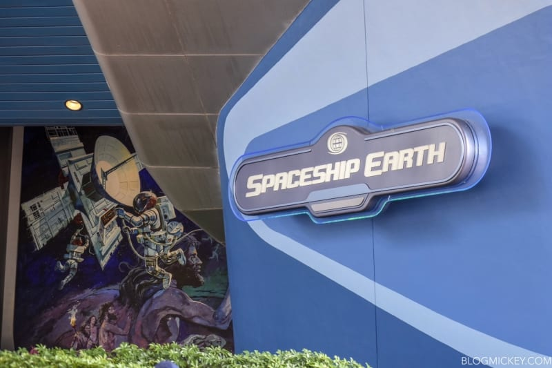 Siemens Sign Removed Spaceship Earth