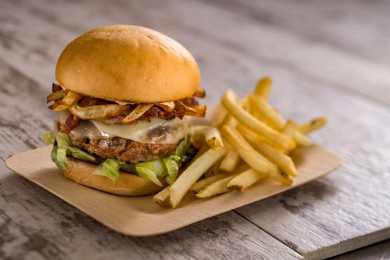 Spyglass Grill Opens Disney burger