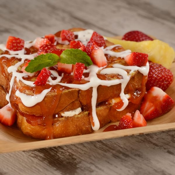 Spyglass Grill Opens Disney French toast