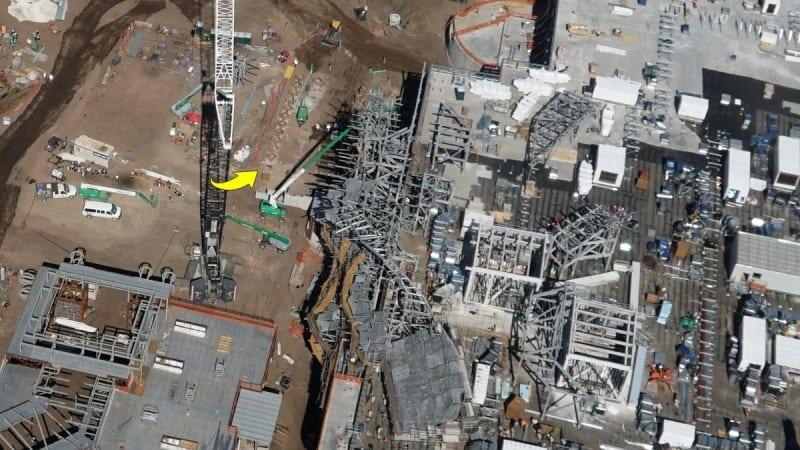 Star Wars galaxy's edge updates disney world concrete forms