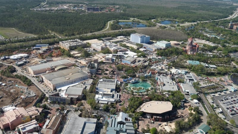 Galaxy's Edge construction update March 2018