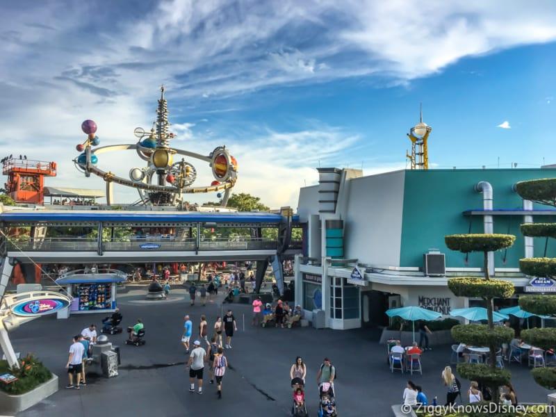Rat Bite Disney's Magic Kingdom Tomorrowland