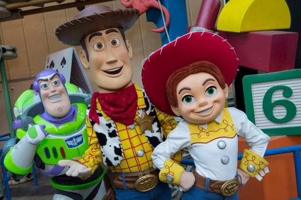 toy story land characters