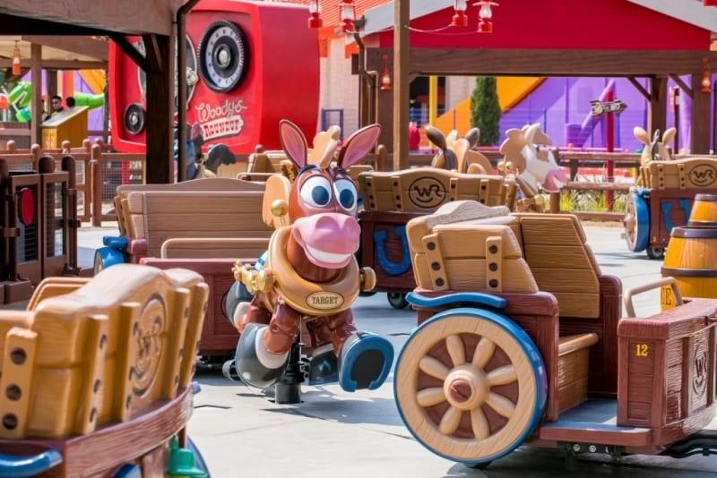 Toy Story Land Shanghai Disneyland Images woody's round up