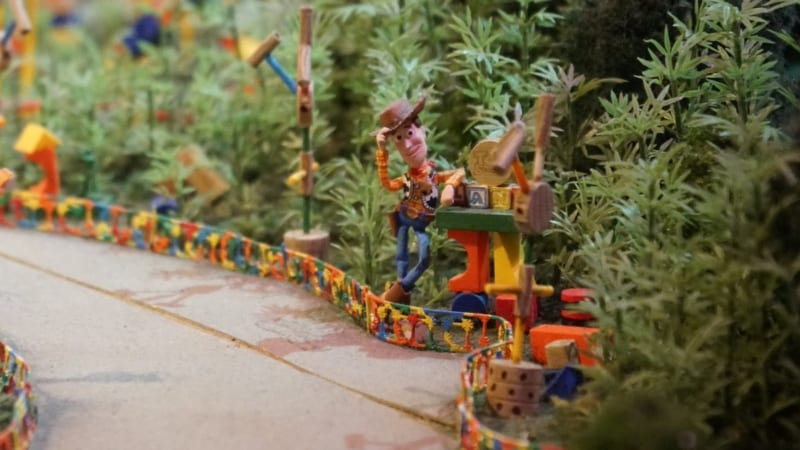 PHOTO TOUR: Sneak Peak at Toy Story Land Theming from Disneyland Paris