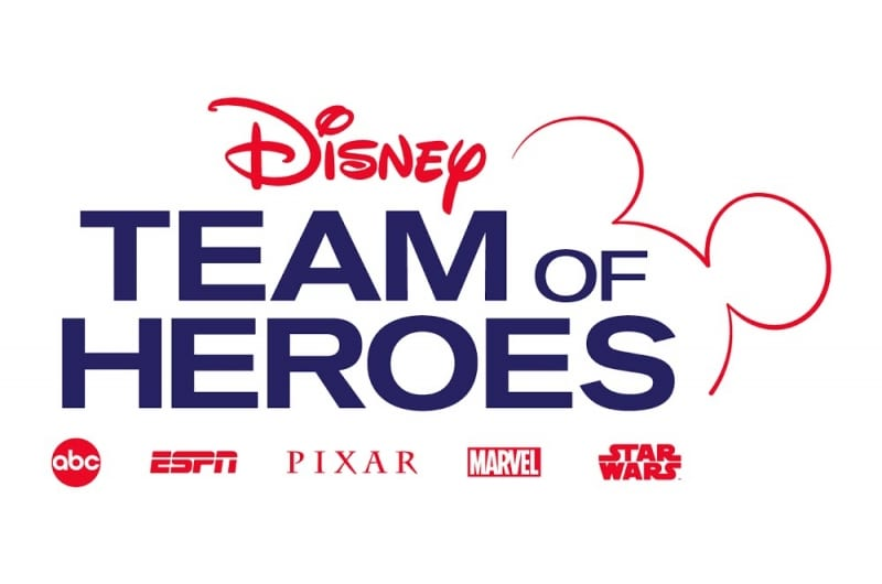 Walt Disney Company Children's Hospitals team of heroes