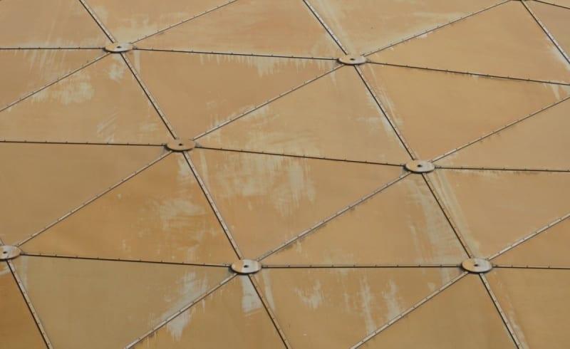 Wonders of Life Pavilion Roof Repair tiles