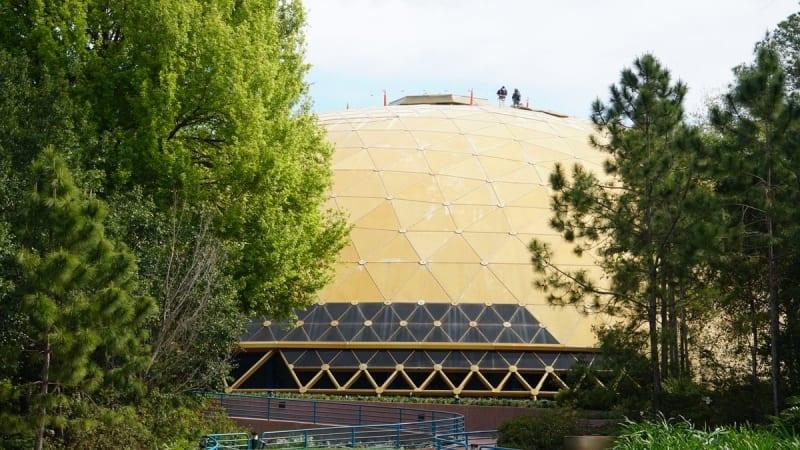 Wonders of Life Pavilion Roof Repair front