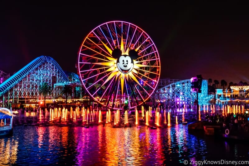 World of Color Closing for 1+ Months Due to Pixar Pier Construction
