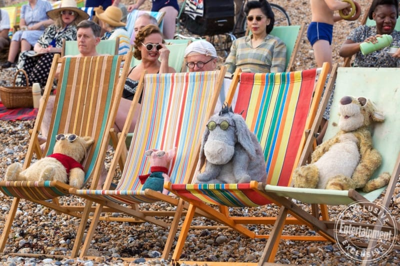 Christopher Robin Film New Images Winnie the pooh and friends