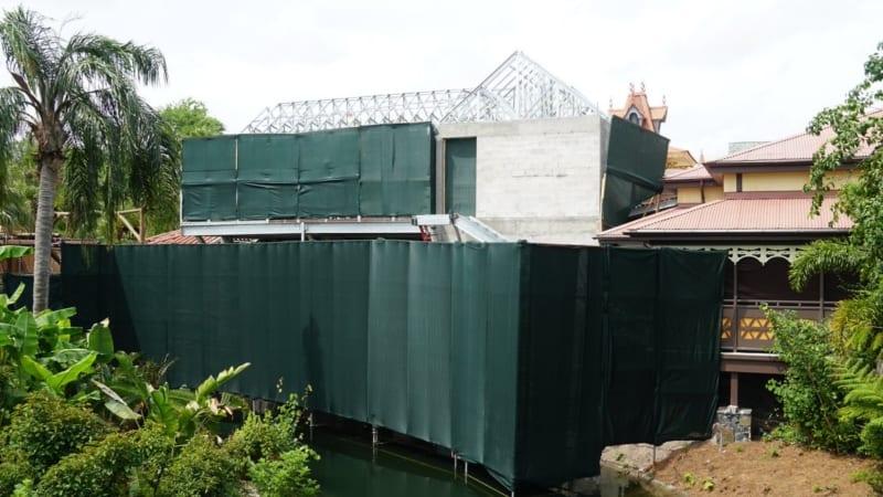 Club 33 Magic Kingdom Roof