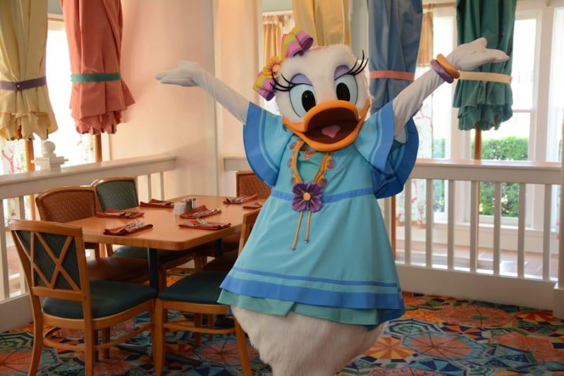Daisy Duck Minnie's Beach Bash Breakfast