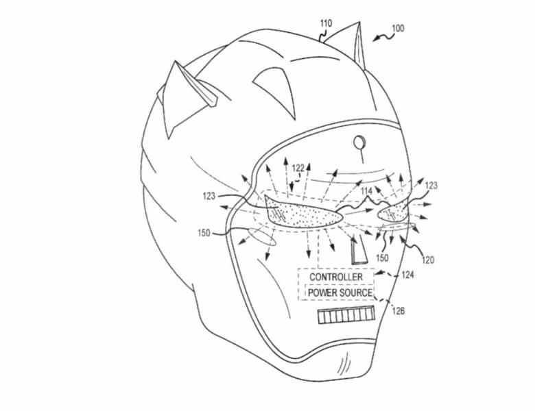 disney character mask patent