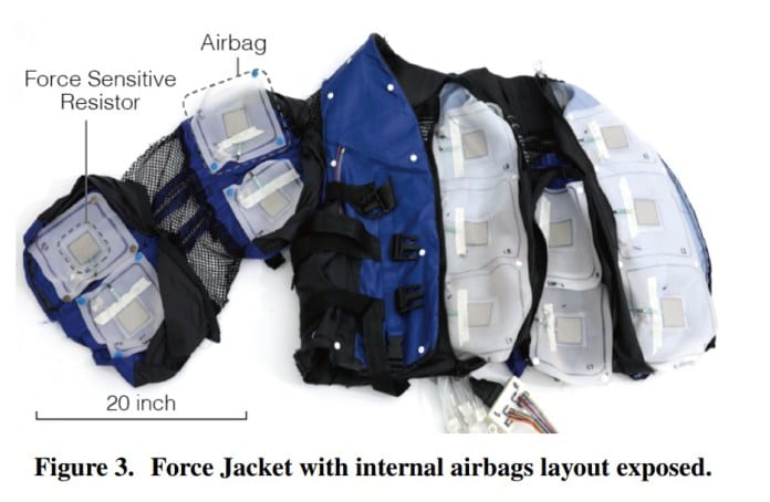 Disney Force Jacket for Virtual Reality Experiences