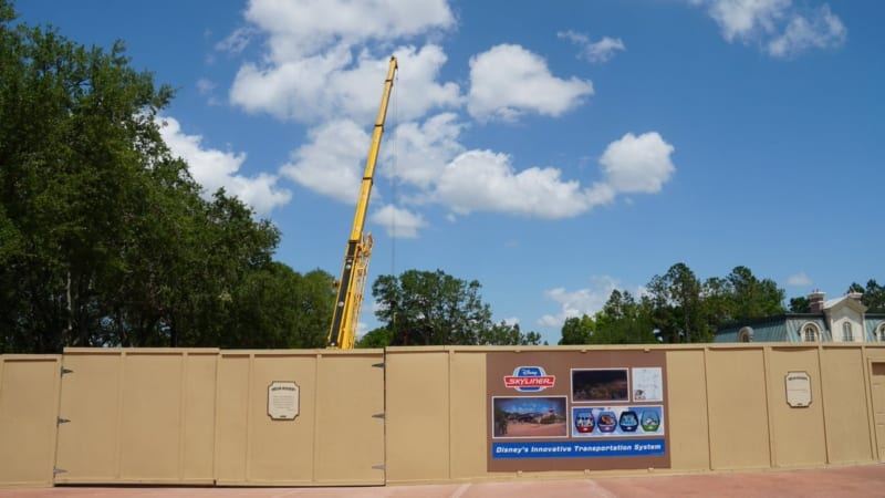 Disney Skyliner Towers Epcot station