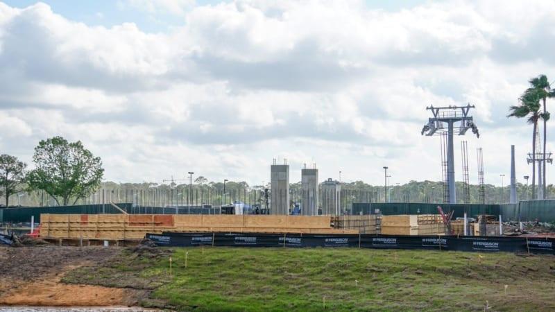 Disney Skyliner Construction Update April 2018 Hollywood studios station