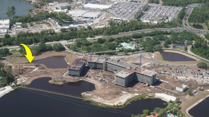 Disney Skyliner Construction Update April 2018 riviera resort