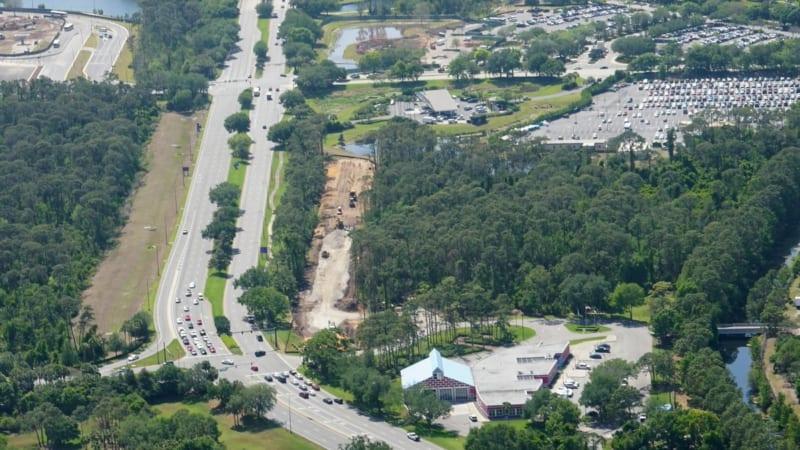 Disney Skyliner Construction Update April 2018 buena vista drive