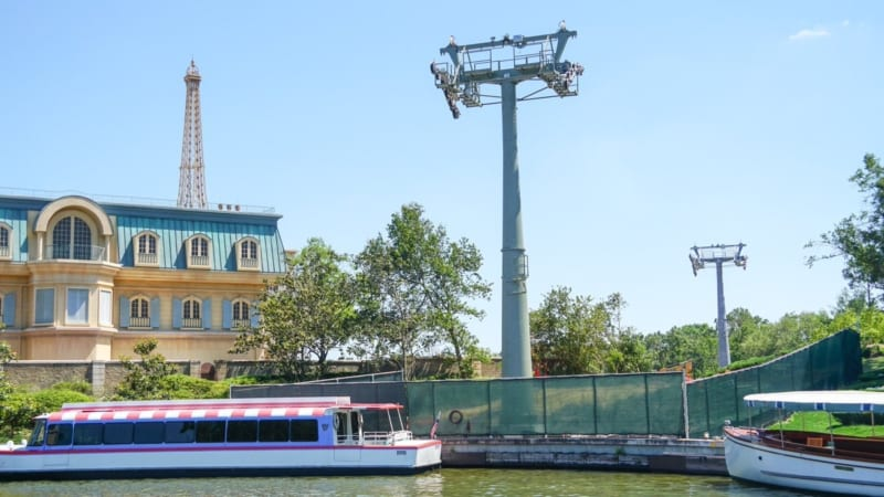 Disney Skyliner Station Hollywood Studios Landing epcot towers