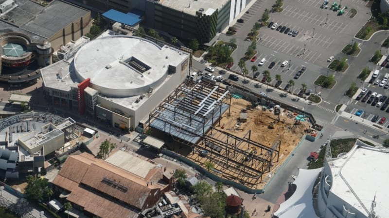Disney Springs Construction Update April 2018 NBA experience