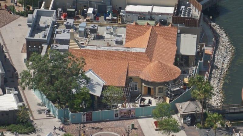 Disney Springs Construction Update April 2018 terralina