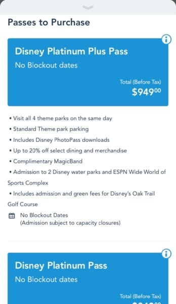 Disney World Annual Passes My Disney Experience