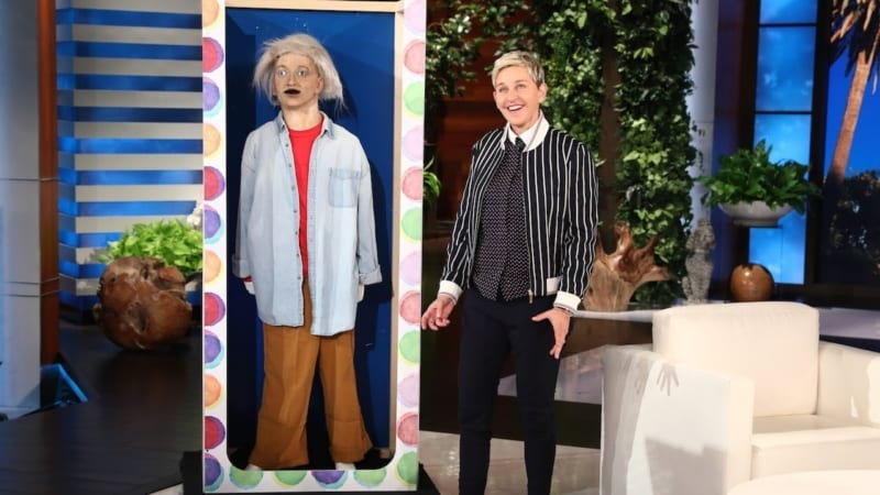 Ellen DeGeneres Animatronic Figure Expected to Sell for up to $5,000