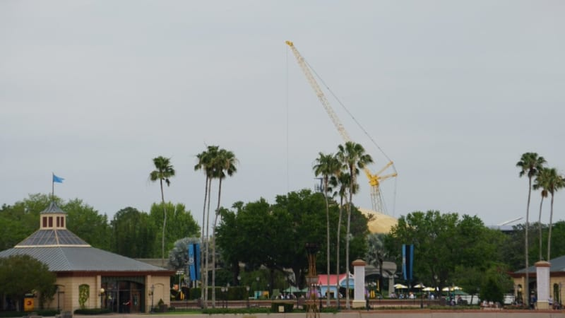 guardians of the galaxy coaster foundation cranes