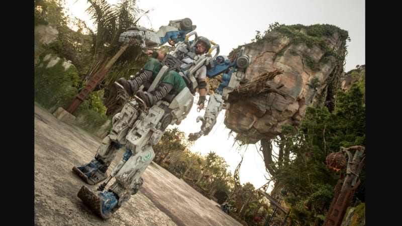Pandora Utility Suit Officially Debuts Animal Kingdom