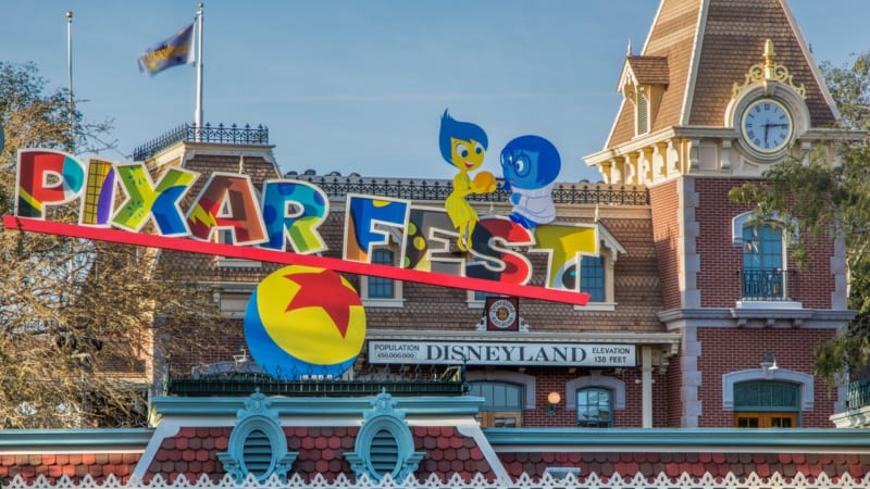 VIDEO: Pixar Fest Now Open in Disneyland