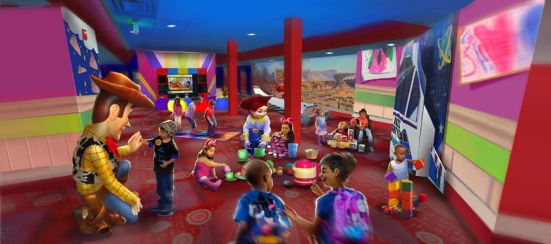 Pixar Play Zone Open