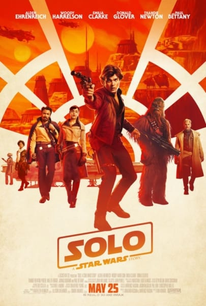 new solo a Star Wars story trailer poster