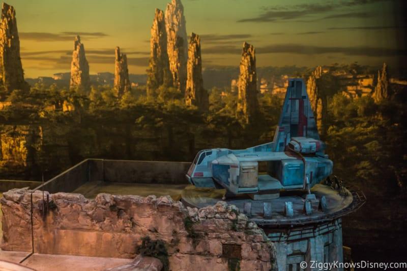 Star Wars Galaxy's Edge Restaurants Layout transport