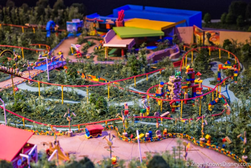 Toy Story Land FastPass+ slinky dog dash