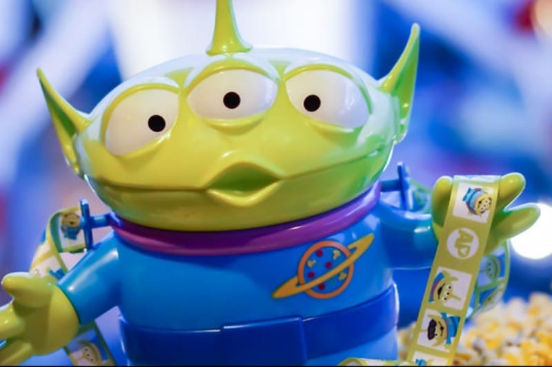 Disneyland Halloween Popcorn Bucket 2018.Toy Story Little Green Men Popcorn Bucket Coming To Disneyland