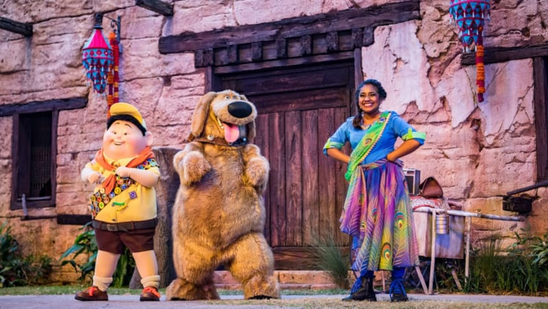 UP! A Great Bird Adventure Officially Debuts in Disney's Animal Kingdom Today