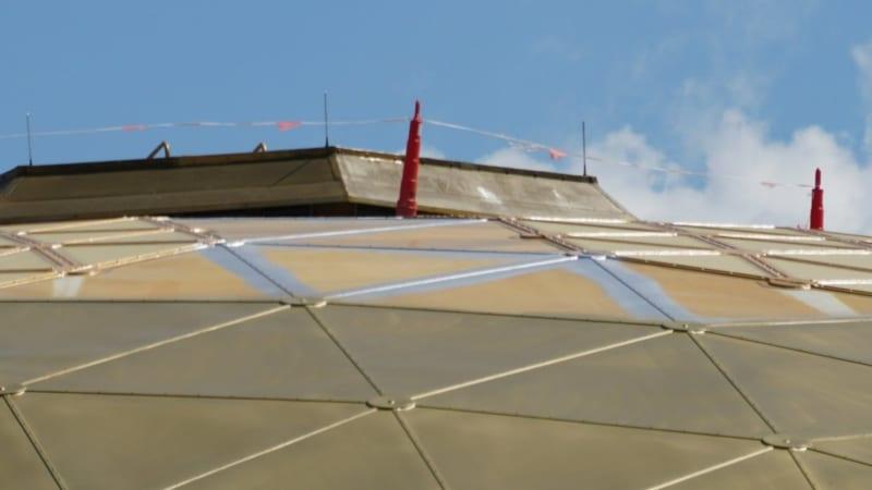 Wonders of Life Pavilion roof maintenance