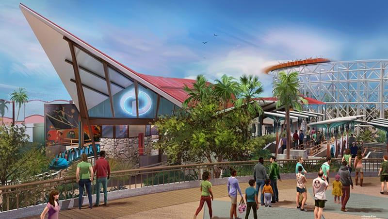 4 New Pixar Pier Neighborhoods Announced for Disney California Adventure