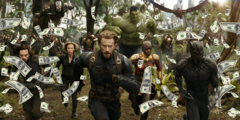 Avengers Infinity War Becomes 5th Highest Movie All-Time at Box Office