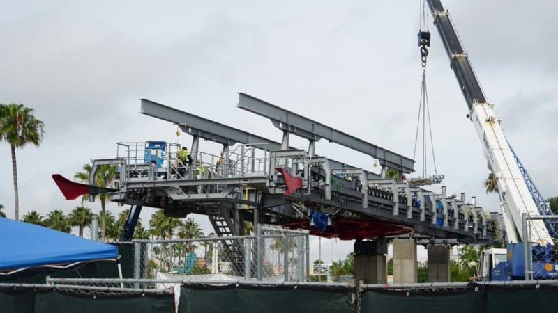 Disney Skyliner Construction Update May 2018 Hollywood Studios ground level