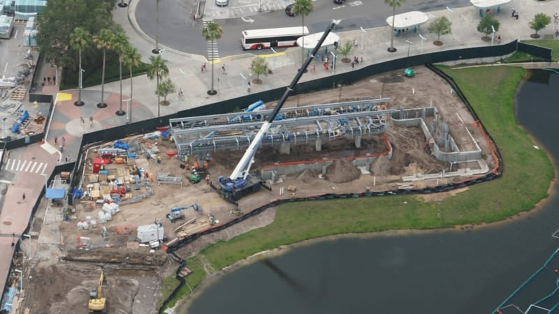 Disney Skyliner Construction Update May 2018 Hollywood Studios Aerial