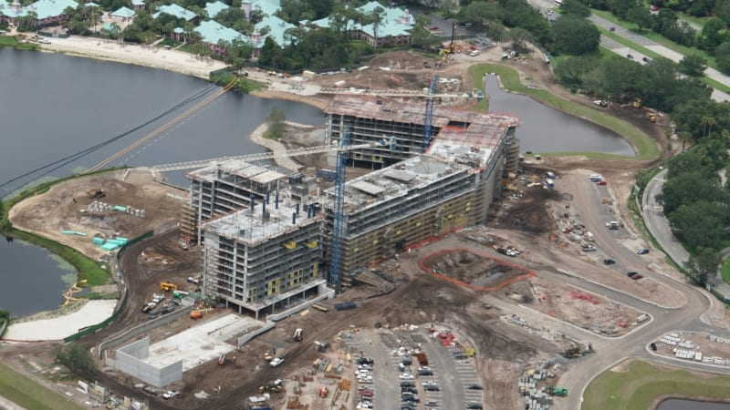 Disney Skyliner Construction Update May 2018 Riviera Resort