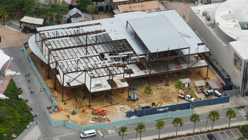 Construction Disney Springs NBA Experience