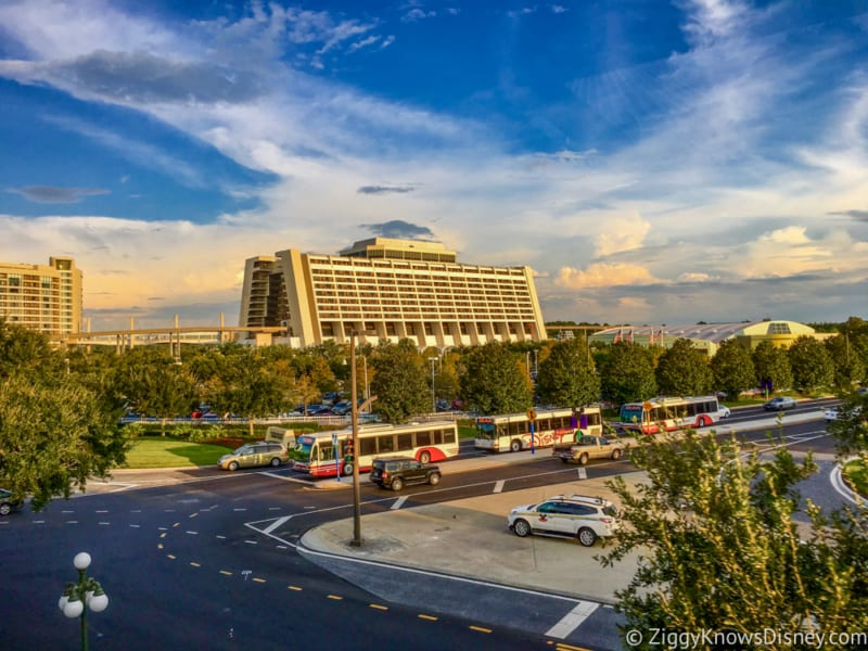 Travel Time From Epcot To Contemporary Resort